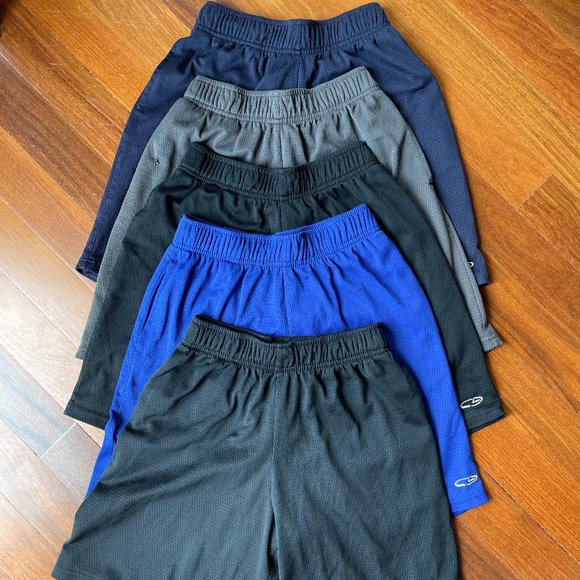 5 Pairs of Boy's C9 by Champion Shorts - Lg 12-14